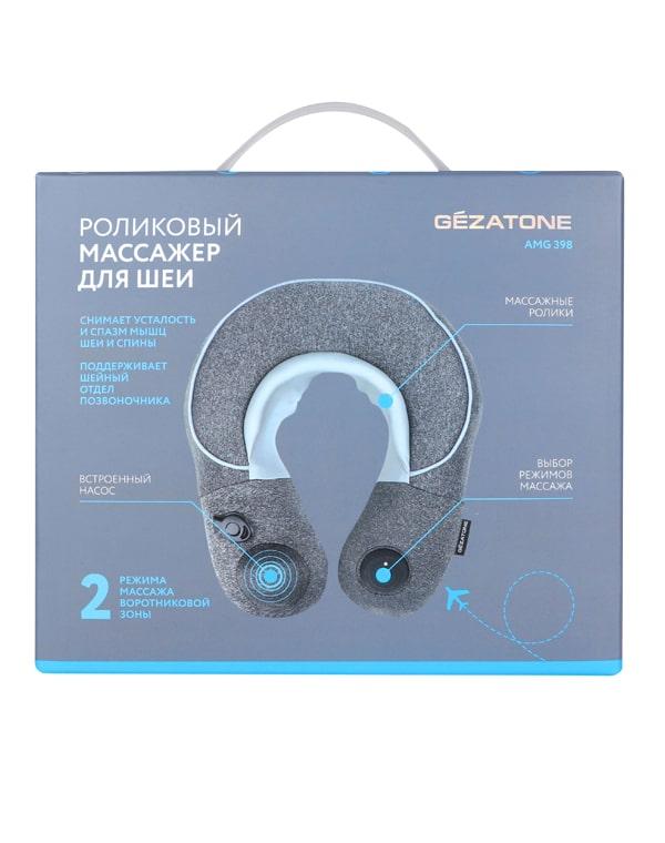 Gezatone массажер для шеи зеленое кружевное белье